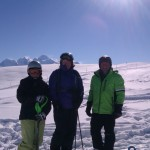 Top of Flaine 13 Feb