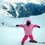 Andorra child ski