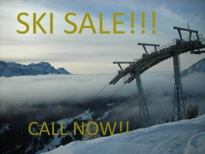 Ski holiday offers